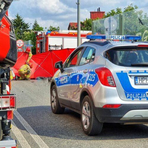 Śmiertelny wypadek z udziałem motocyklisty.  Apelujemy o rozwagę i ostrożność na drodze