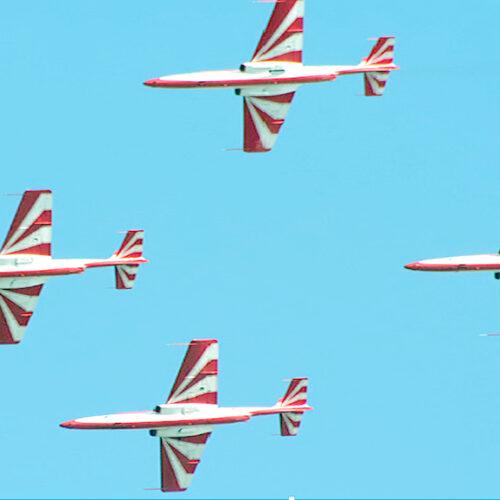 Samoloty i śmigłowce nad Siedlcami